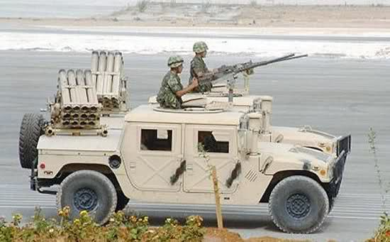 HMMWV-multiple rockets