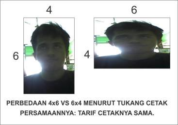 6x4 atau 4x6